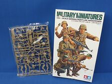 Tamiya Plastic Model Kit German Front Line Infantrymen 1:35 Scale Item 35196