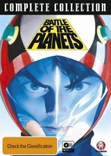 BATTLE OF THE PLANETS : COMPLETE COLLECTION (15 disc) -  DVD - REGION 4 - SEALED