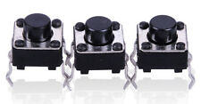 10pcs 4 pin Micro Switch Momentary Tactile Tact Push Switch Button 6x6x5mm