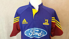 rare HIGHLANDERS NZ Mans Rugby Shirt Size: L/XL in VERY GOOD Condition