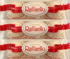 Ferrero RAFFAELLO COCONUT CREME WHITE CHOCOLATE 12 3-Piece Packs