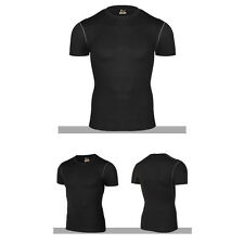Men Sports Compression Thermal Base Layer Under Short Sleeve Shirts T-Shirts