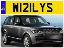 W121 LYS WILLY WILLYS WILL WILLS WILLIAMS WALLY BILLY PRIVATE NUMBER PLATE BILLS