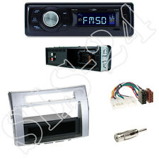 Caliber RMD021 Autoradio + Toyota Corolla Verso(ZER) Blende silber + ISO Adapter