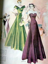 VTG 1930s McCALLS MAGAZINE Fashion Sewing Pattern Catalog Womens Interest 1938