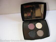 LANCOME PARIS Color Design Sensational Effects 4-pan Eye Shadow Palette NEW