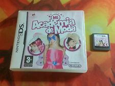 MI ACADEMY OF MODA NINTENDO DS Y 3DS SHIPPING 24/48H