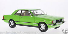 FORD TAUNUS/CORTINA GHIA MK4 GREEN 1:18 SUPERB MODEL COLLECTOR RARE ITEM BY BOS