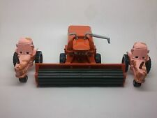 Disney Cars FRANK the combine harvester & 2 Tractors 1/55 Diecast Lot 3