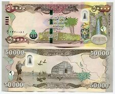 100000 New Iraqi Dinars 2015 with New Security Features - IRAQ DINAR UNC 100 000