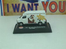 "Model Power  HO "" MINIS"" MERCEDES-BENZ  VAN  #194011 SANTA'S GIFT DELIVERY SERVI"