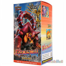 Pokemon Card TCG XY Steam Siege Explosive Fighter Booster Display 1 Box Korean