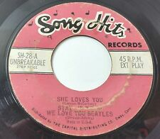 THE BEATLES SONG HITS She Loves You-Stay-We Love You-Please Me-Shoop ROCK 45