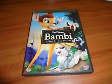 Bambi (DVD, 2005, 2-Disc Set, Special Edition/Platinum Edition) Used Disney OOP