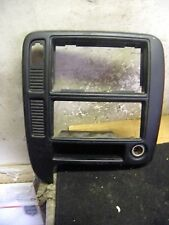 99 00 01 02 03 Ford Windstar Middle Center Console Radio Climate Control Trim