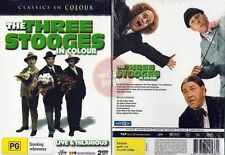 The Three Stooges In Colour - Live And Hilarious (DVD, 2007)