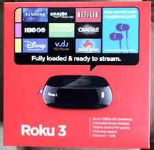 BRAND NEW! Roku 3 HD Streaming Media Player with Remote