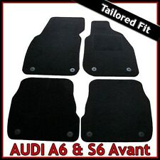 Audi A6 S6 RS6 Avant Estate C5 1997 - 2005 Tailored Carpet Car Mats BLACK