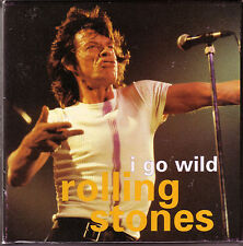 "ROLLING STONES ""I go wild"" 4 Track Maxi CD in BOX + Booklet + Fotos"