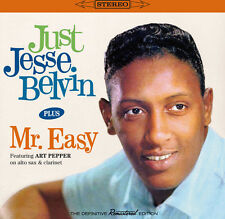 Just Jesse Belvin + Mr. Easy - Jesse Belvin (2014, CD NEUF)