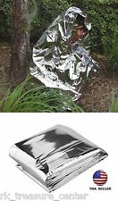 Emergency Survival Blanket Thermal Space Age Mylar First-aid Prep Kit Survival