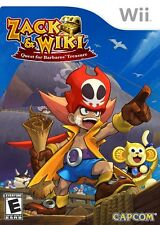 Zack & Wiki: Quest for Barbaros' Treasure - Nintendo  Wii Game