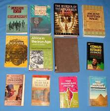 Africa - 12 Cultural Anthropology books about African Cultures including Egypt