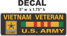 1  US  U.S. Army American Vietnam Veteran POW War Amvets Vinyl Decal