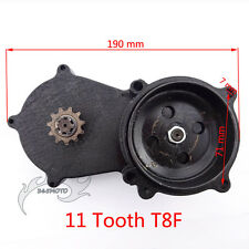 11 Tooth T8F Double Chain Clutch Drum Gear Box For 47cc 49cc Mini Dirt Bike ATV