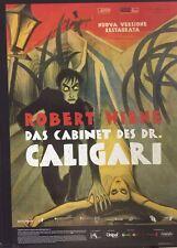 Il Gabinetto del Dr.Caligari di Wiene (edizione rest. 2015) manifesto 100X140