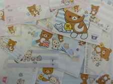 San-X Rilakkuma Bear 72 pc Note Memo Paper Stationery cute kawaii gift journal