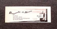 L866- Advertising Pubblicità -1960- RUGIADA DI BOSCO ,COLONIA BRILLANTINA SAPONE