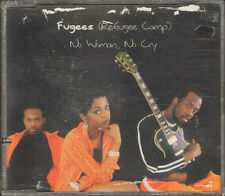 FUGEES No Woman No Cry NEW SEALD CD SINGLE 4 track Killing Me Softly LIVE 1996