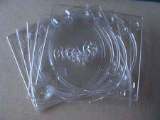 Case: CD / DVD / Game Tray For DIY Cases - USED 5 For 1 Disc Each Clear