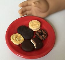 Miniature Dollhouse Girl Scout Cookies 1:3 scale AG doll fake food dessert minis