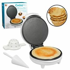 Cone Maker Waffle Baker Machine Non Stick Homemade Ice Cream and Waffle Bowls