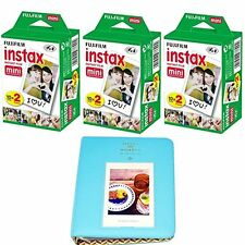 60 Shots Fujifilm Instax Film For Mini 90 8 25 7S 50s Instant Camera + Album Set
