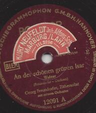 Georg Freundorfer Zither 1935 : An der schönen grünen Isar + Über Berg und Tal