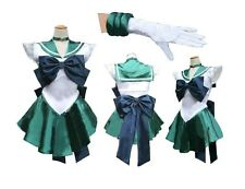 Soldier Sailor Moon Neptune Japanese Anime Cosplay Costume,Any Size(Note Pls)07