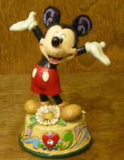 Jim Shore Disney  #4033961 MICKEY MOUSE, APRIL, Enesco NEW from Retail Store