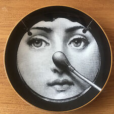 Porcelain Plate No 35 by Atelier Fornasetti