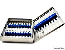 Stérilisation récipient 10 instruments conservation stérile conteneur Dental BOX