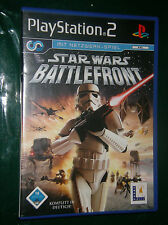 Star Wars: Battlefront (Sony PlayStation 2, 2004, DVD-Box)