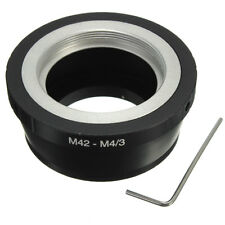 New M42 Mount Camera Lens Adapter Ring to Micro M4/3 M43 Olympus E-P1 EP-2 E-PL1