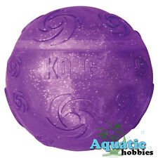 Kong Squeezz Crackle Medium Ball Quieter Play For Dog Puppy Toy Fetch M