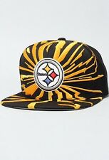 "PITTSBURGH STEELERS ""Earthquake"" Mitchell and Ness Snapback Vintage STEELERS HAT"