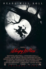 24X36Inch Art SLEEPY HOLLOW Movie Poster 1999 Tim Burton Johnny Depp P54