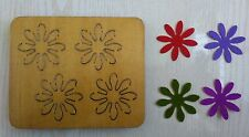 Flower Colorful Wood Die New Craft compatible Big shot, Sizzix i8 RX00207A