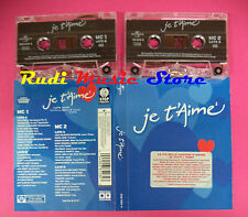 BOX 2 MC JE T'AIME 2 compilation 2003 VASCO ROSSI TIZIANO FERRO TOGNI no cd lp