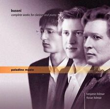 Busoni: Complete Works for Clarinet and Piano, New Music